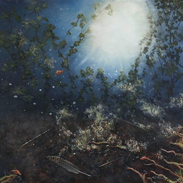 Lil Olive Art - Keeping Secrets Reflection