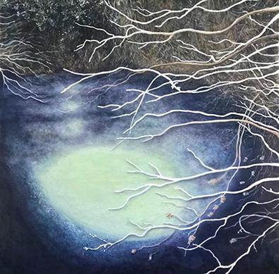 Lil Olive Art - Ice Moon